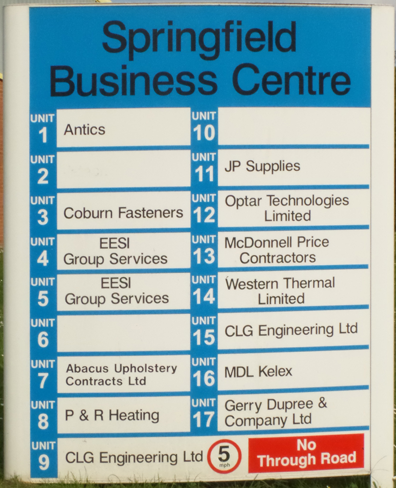 Springfield Business Centre (industrial estate)