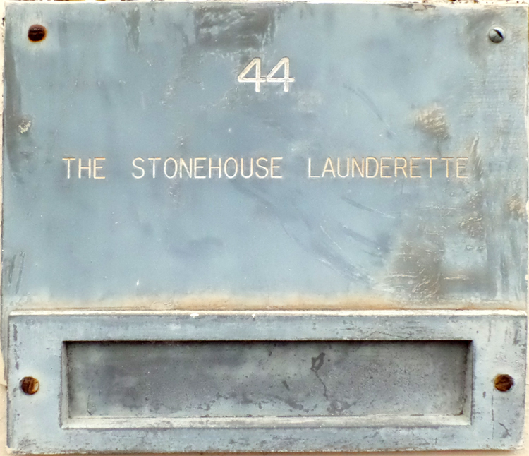 The Stonehouse Launderette (long gone)