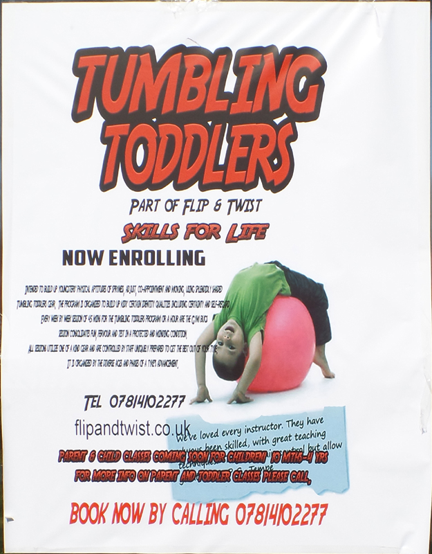 Tumbling Toddlers